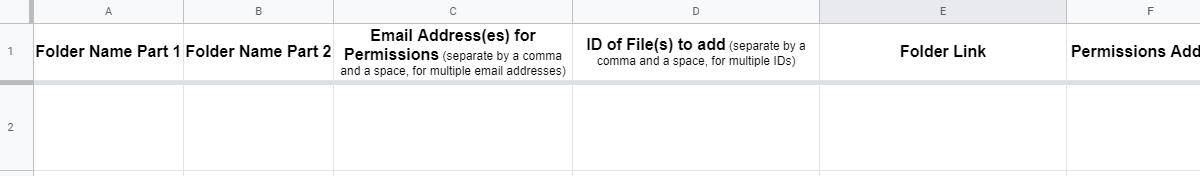 Bulk create Google Drive folders and add files, from a Sheet of data